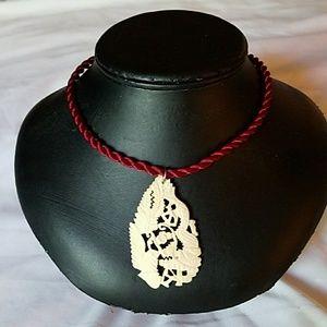 Jewelry - Satin Twist Choker Neclace